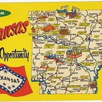 Arkansas - Postcards