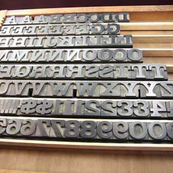 Cooley Clarendon Extended Wood Type Font - Office