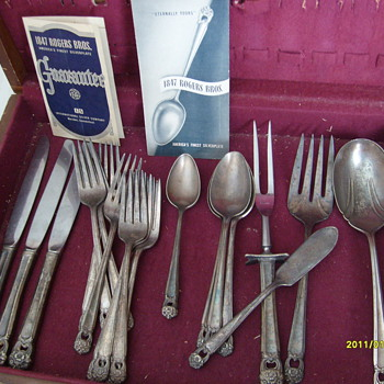 1847 Rogers Bros. Silverplate - Sterling Silver