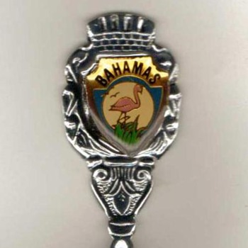 """Souvenir Spoon - """"Bahamas"""""""