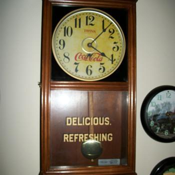 Coco Cola Clock