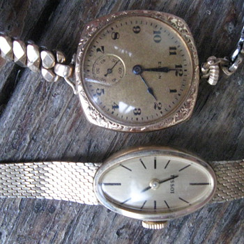 Grandmother's Elgin, Mother's Tissot - Wristwatches