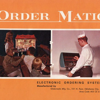 Vintage Order Matic Catalogue - Advertising