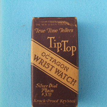 1924 Tip-Top wire lug wristwatch