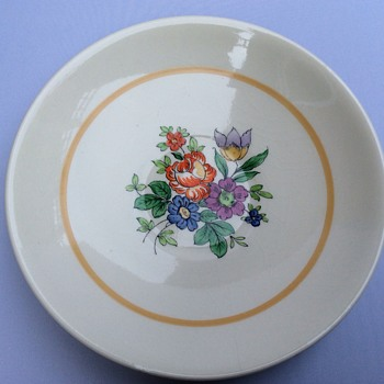 Small plates or big tea cup saucers