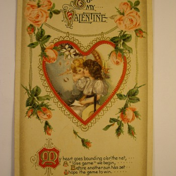 "Turn Of The Century Valentine ""Postcards"""