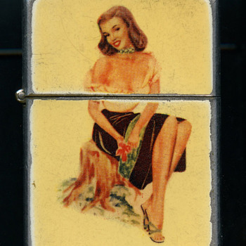 MARILYN MONROE ?? LIGHTER WITH IMAGE BY EARL MORAN - Tobacciana