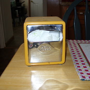 1960s dairy queen napkin holder - Kitchen