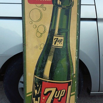 non metal 7 up - Signs