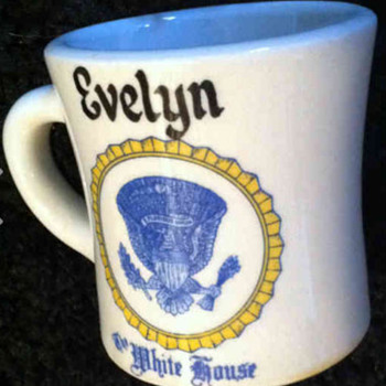 Evelyn Lincoln coffee mug