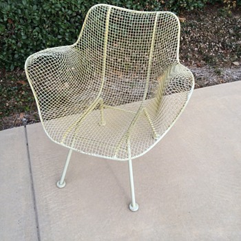 RUSSELL WOODARD WIRE CHAIR