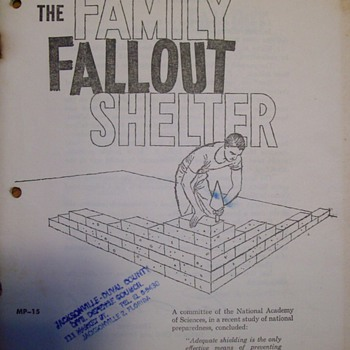 "Family ""Fallout"" Shelter Plans"