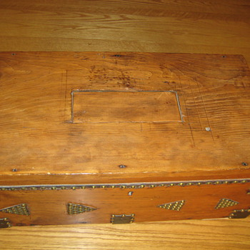 Stagecoach Trunk possibly from 1715