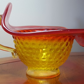 Kanawha Jack in the Pulpit Nappy Bowl  - Art Glass