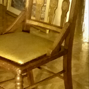 Very old chair mystery - Furniture