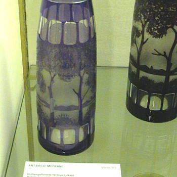 KRALIK CAMEO VASE, PM DOCUMENTED. - Art Glass