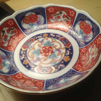 Japanese Imari porcelain bowl  - Asian
