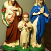 Chalkware Holy Family