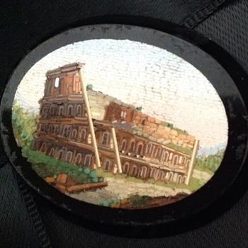 Micro mosaic Pietra Dura - Fine Jewelry