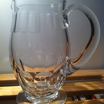 Baccarat Pitcher - Glassware