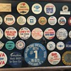Automobile Pinback Button Collection
