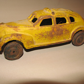 Late 1930's Taxicab - Model Cars