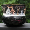 Salviati/Moser Enameled Bowl