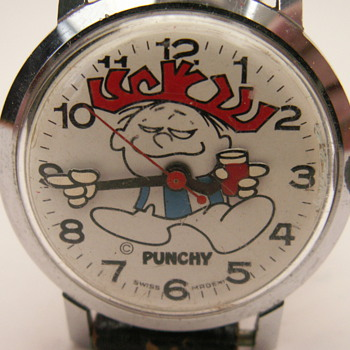 Punchy, the Hawaiian Punch Guy - Wristwatches