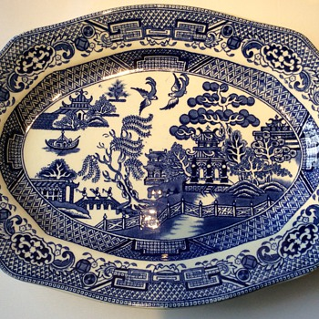 Antique platter 2 - China and Dinnerware