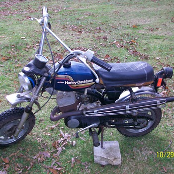 1975 Harley Davidson X - 90 Mini Bike