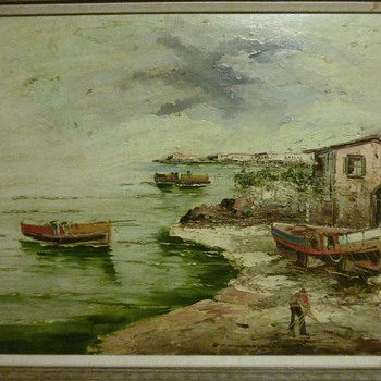 Oil Painting - Luvayo?
