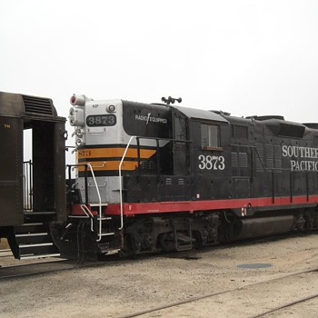 Taking a Ride in a GP-9 Locomotive