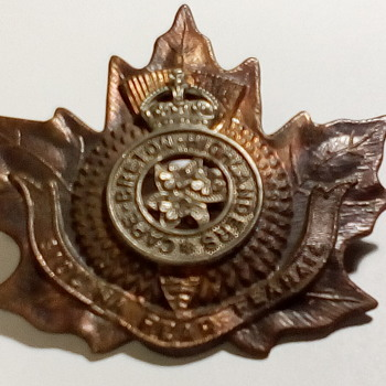 WW2 Cap Badge - Military and Wartime