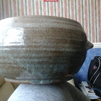 stoneware bowl (William Marshall) ??