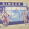1943 Vintage Singer Dressmaking Guide and Sewing Circle Vintage Needle Books