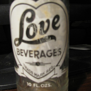 LOVE Beverages Bottle