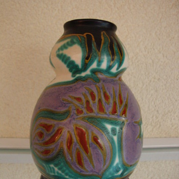 zuid holland vase 20s - Art Pottery