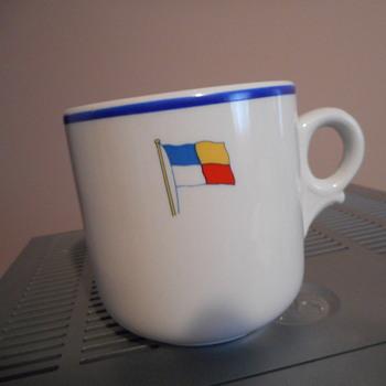 ship's china mug