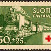"1944 - Finland ""Red Cross"" Postage Stamp"