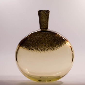 Gunnar Ander Big Cascade Vase for Lindshammar - Art Glass