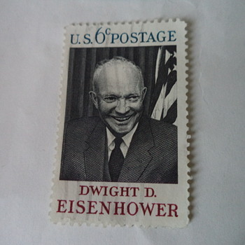 Dwight D. Eisenhower USA Stamp