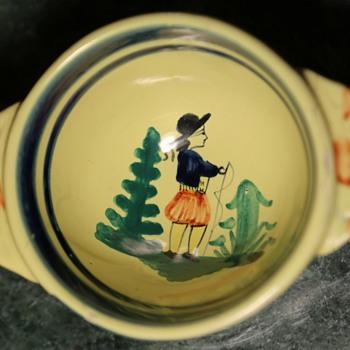 Quimper Bowl ? - Pottery