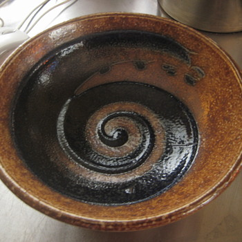 DIXON stoneware piece... - Art Pottery