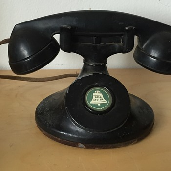 Antique Western Electric F1 Bell Systems Telephone