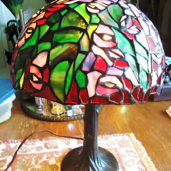 Item	Price	Qty	Total # 16721442 - Vintage Handcrafted Stained Glass Table Lamp	$41.77	1	$41.77