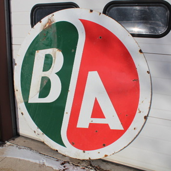 BA Oil Company  - Signs