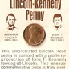 1973 Lincoln and Kennedy Penny