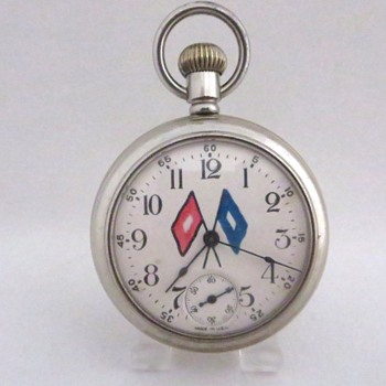 Ansonia Scout Troop Pocket Watch  - Pocket Watches