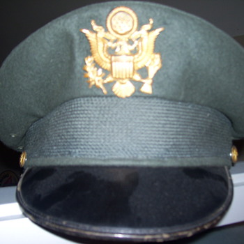 vintage army hat  - Military and Wartime