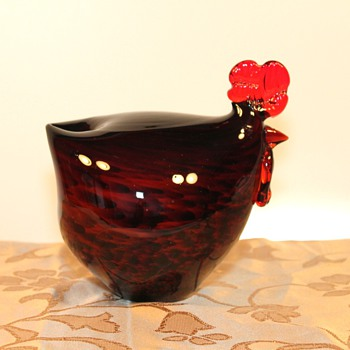 Hen Art Glass - Art Glass